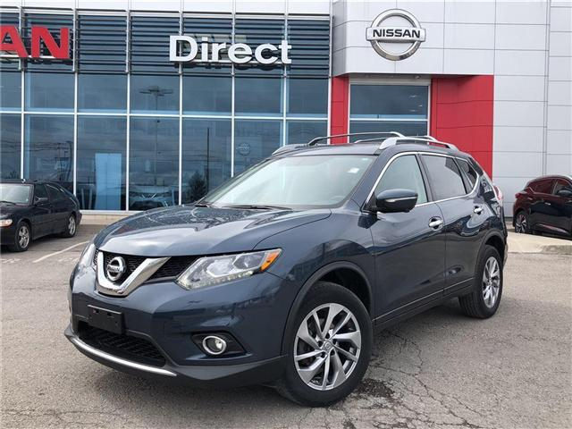 2015 Nissan Rogue SL. NAVI, BACK CAMERA, SUNROOF, NO ACCIDENT (Stk: P0553) in Mississauga - Image 1 of 17