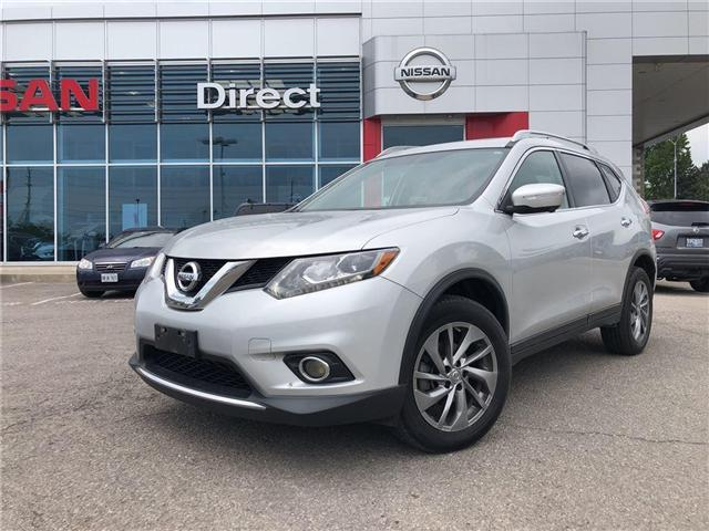 2015 Nissan Rogue SL PREMIUM. NAV, LEATHER, SUNROOF, 360 CAMERA (Stk: N1343) in Mississauga - Image 1 of 17