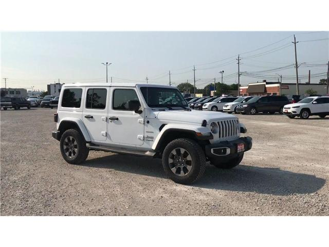 2018 Jeep Wrangler Unlimited Sahara (Stk: 18525) in Windsor - Image 2 of 11