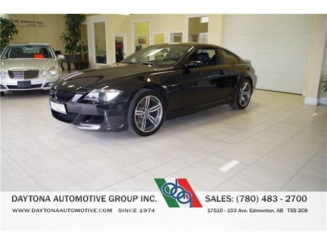 2006 BMW M6 V10 500 HORSEPOWER NO ACCIDENTS LOW KMS! (Stk: 7111) in Edmonton - Image 1 of 21