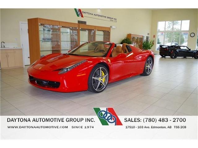 2015 Ferrari 458 Spider LOCAL 1 OWNER NO ACCIDENTS (Stk: 5537) in Edmonton - Image 1 of 15