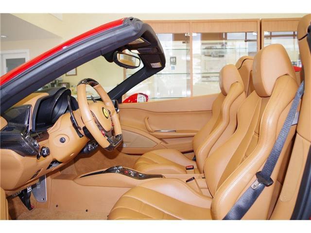 2015 Ferrari 458 Spider LOCAL 1 OWNER NO ACCIDENTS (Stk: 5537) in Edmonton - Image 9 of 15
