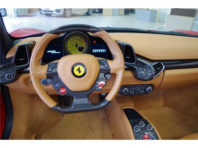 2015 Ferrari 458 Spider LOCAL 1 OWNER NO ACCIDENTS (Stk: 5537) in Edmonton - Image 10 of 15