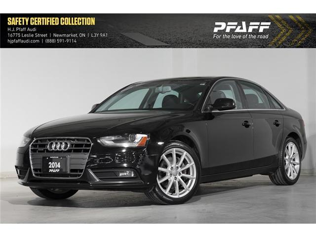 2014 Audi A4 2.0 Progressiv (Stk: 52944) in Newmarket - Image 1 of 17