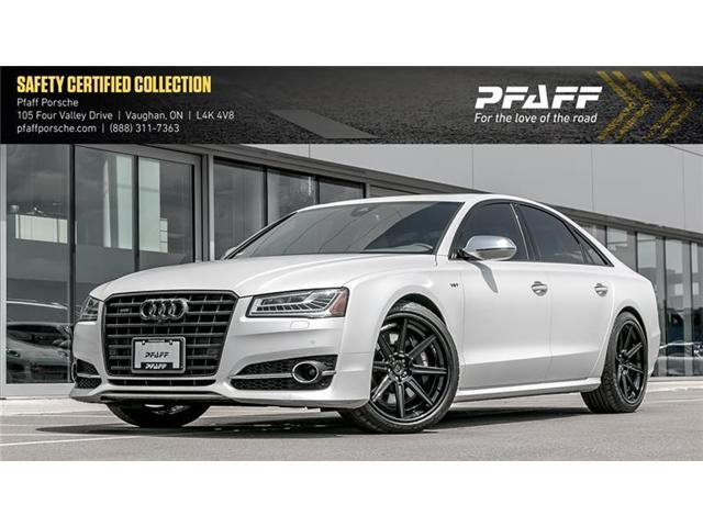 2015 Audi S8 4.0T quattro 8sp Tiptronic (Stk: COSIGN1) in Vaughan - Image 1 of 22