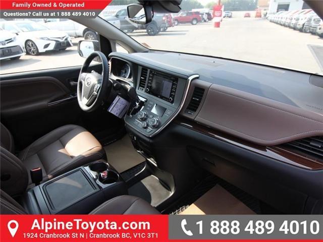 2018 Toyota Sienna XLE 7-Passenger (Stk: S206427) in Cranbrook - Image 10 of 20