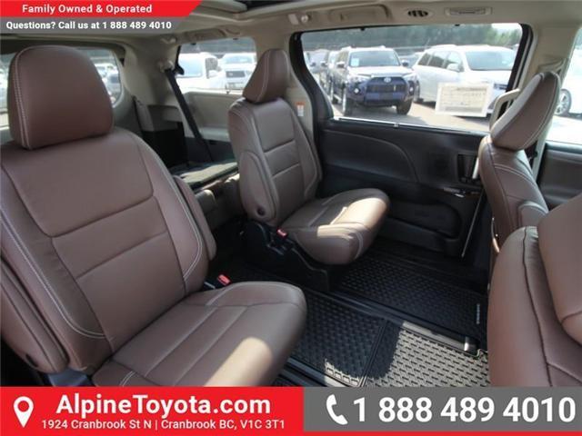 2018 Toyota Sienna XLE 7-Passenger (Stk: S206427) in Cranbrook - Image 11 of 20