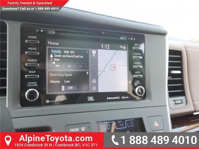 2018 Toyota Sienna XLE 7-Passenger (Stk: S206427) in Cranbrook - Image 12 of 20