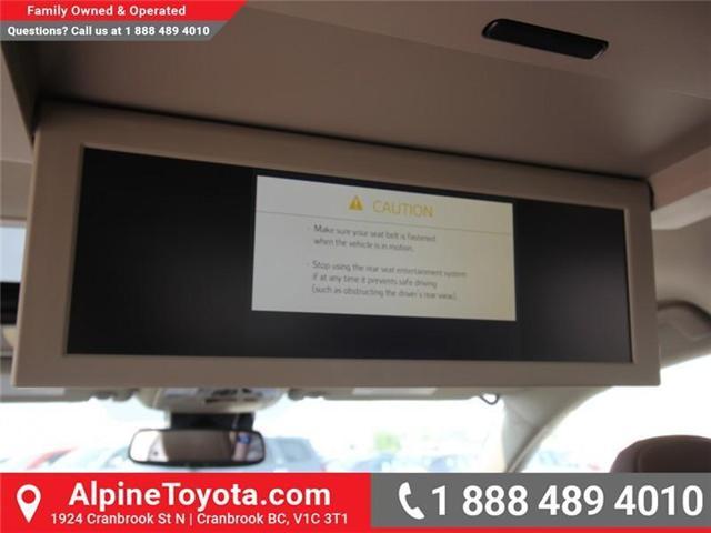 2018 Toyota Sienna XLE 7-Passenger (Stk: S206427) in Cranbrook - Image 17 of 20