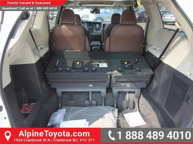 2018 Toyota Sienna XLE 7-Passenger (Stk: S206427) in Cranbrook - Image 18 of 20