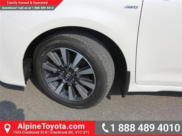2018 Toyota Sienna XLE 7-Passenger (Stk: S206427) in Cranbrook - Image 19 of 20