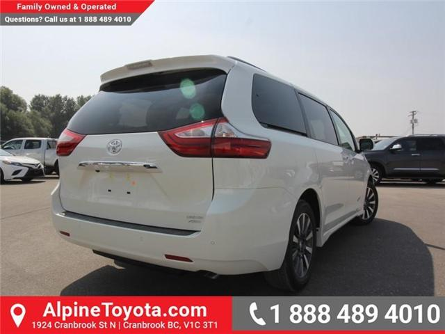 2018 Toyota Sienna LE 7-Passenger (Stk: S207635) in Cranbrook - Image 5 of 20