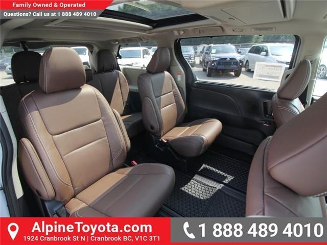 2018 Toyota Sienna XLE 7-Passenger (Stk: S207635) in Cranbrook - Image 11 of 20