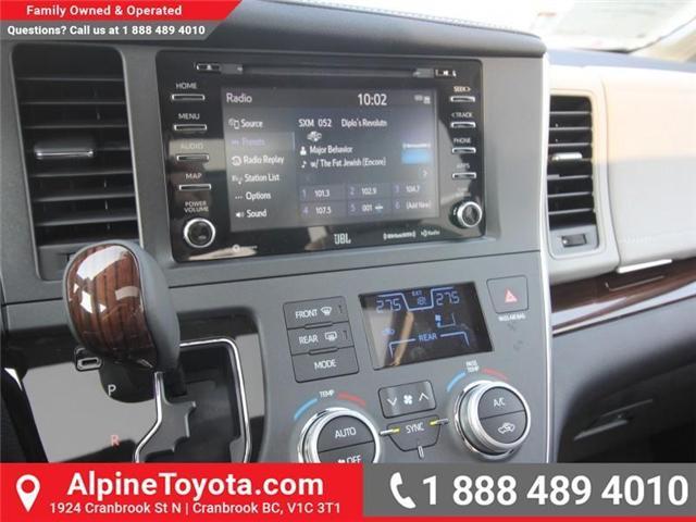 2018 Toyota Sienna XLE 7-Passenger (Stk: S208072) in Cranbrook - Image 12 of 17
