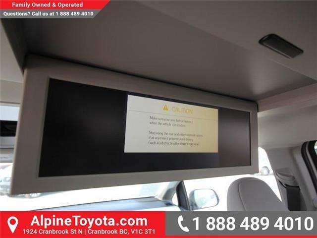 2018 Toyota Sienna XLE 7-Passenger (Stk: S208072) in Cranbrook - Image 17 of 17