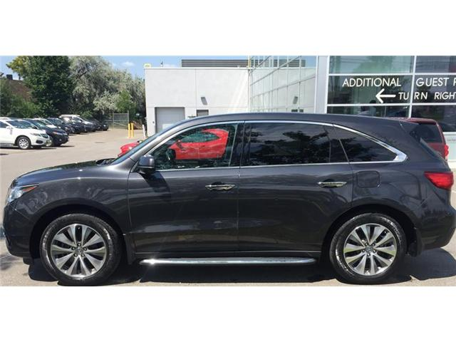 2016 Acura MDX Navigation Package (Stk: 505684T) in Brampton - Image 2 of 3