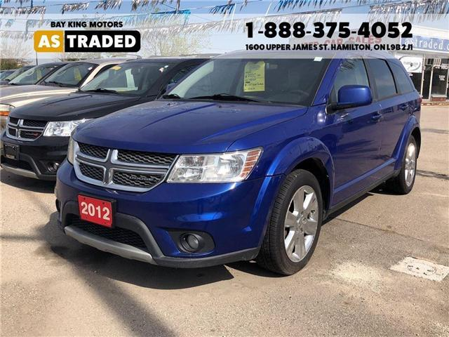 2012 Dodge Journey SXT & Crew (Stk: 17-7511A) in Hamilton - Image 1 of 15