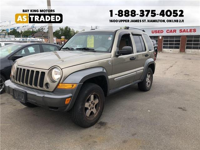 2006 Jeep Liberty Sport (Stk: 6504A) in Hamilton - Image 1 of 12