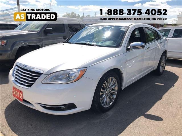 2012 Chrysler 200 Limited (Stk: 18-7681A) in Hamilton - Image 1 of 18