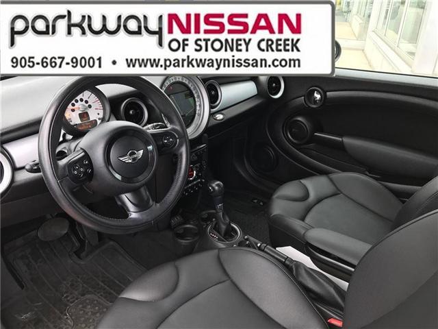 2013 Mini Hatch Cooper (Stk: N1280) in Hamilton - Image 9 of 16