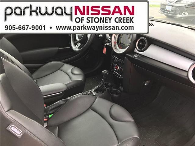 2013 Mini Hatch Cooper (Stk: N1280) in Hamilton - Image 10 of 16