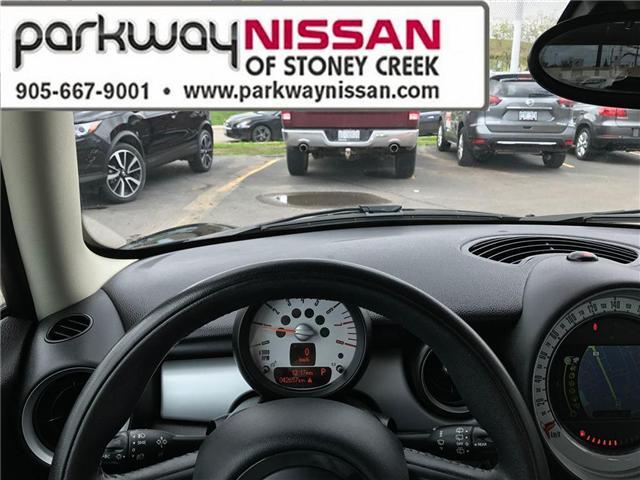 2013 Mini Hatch Cooper (Stk: N1280) in Hamilton - Image 13 of 16
