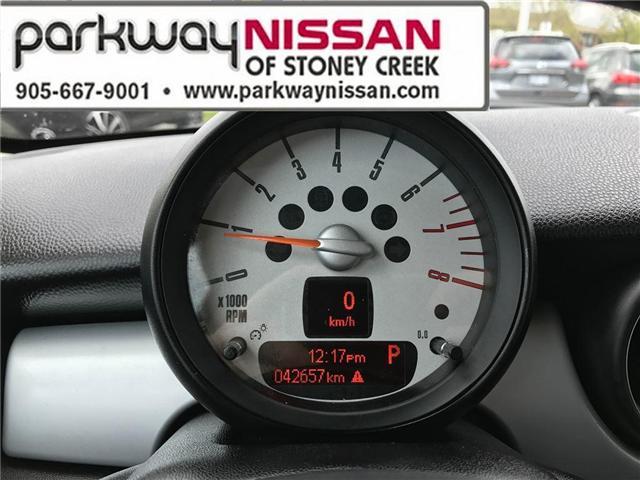 2013 Mini Hatch Cooper (Stk: N1280) in Hamilton - Image 14 of 16