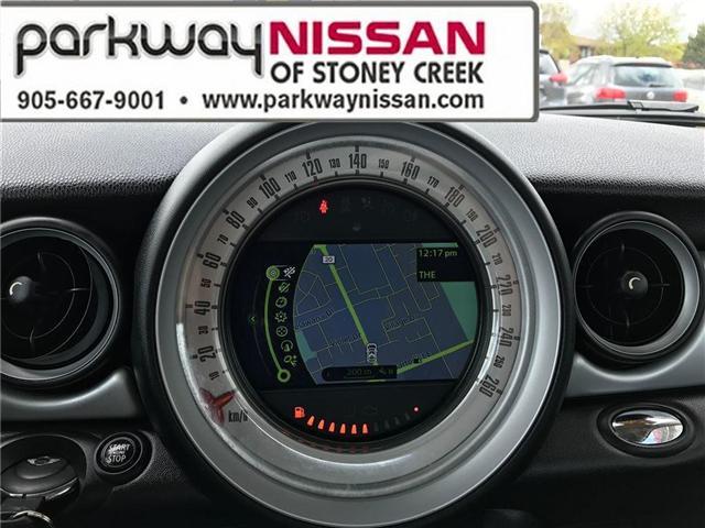 2013 Mini Hatch Cooper (Stk: N1280) in Hamilton - Image 15 of 16