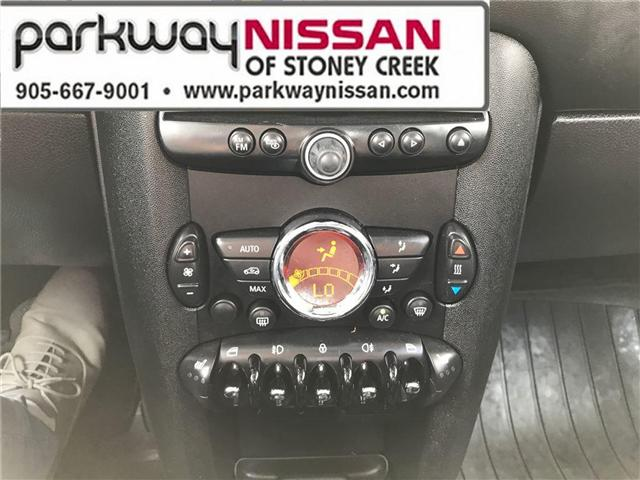 2013 Mini Hatch Cooper (Stk: N1280) in Hamilton - Image 16 of 16