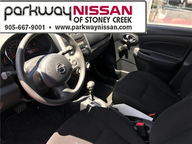 2015 Nissan Micra S (Stk: N18337A) in Hamilton - Image 9 of 17