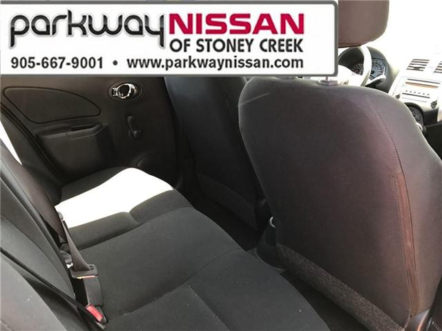 2015 Nissan Micra S (Stk: N18337A) in Hamilton - Image 11 of 17
