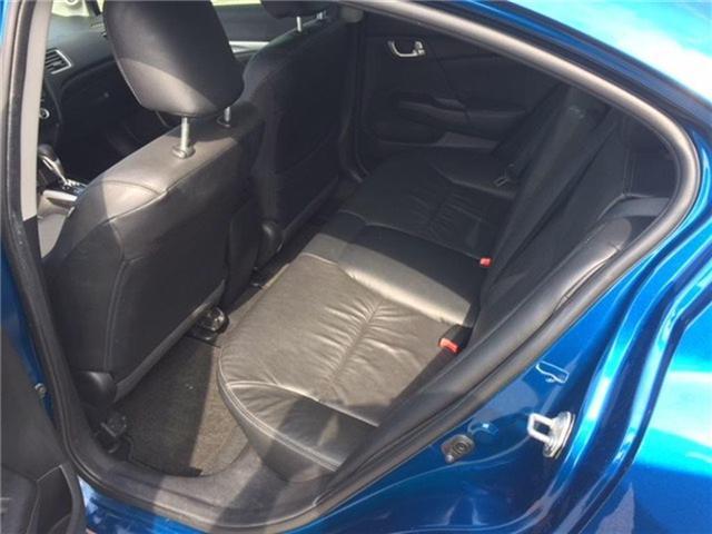2015 Honda Civic Touring (Stk: N18656A) in Hamilton - Image 4 of 7