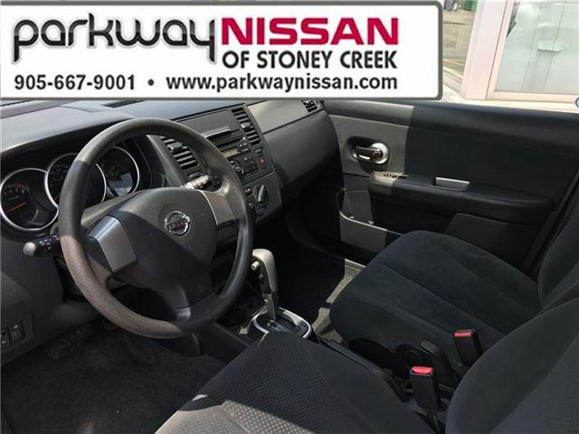 2012 Nissan Versa  (Stk: N1295) in Hamilton - Image 9 of 17