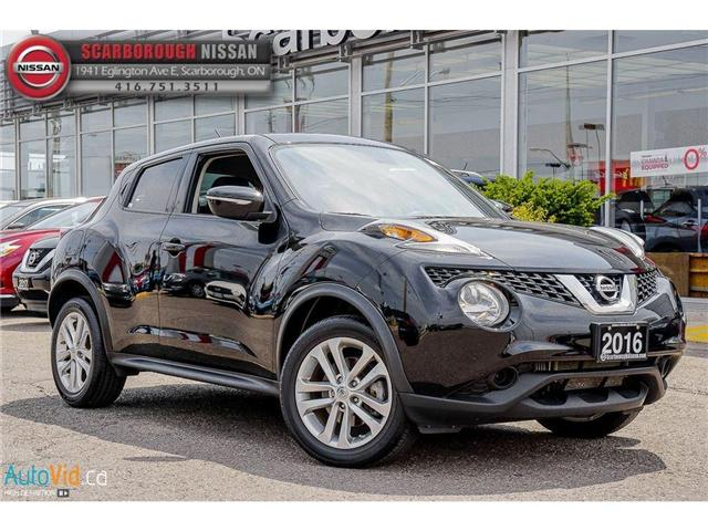 2016 Nissan Juke SV (Stk: K18006A) in Scarborough - Image 1 of 21