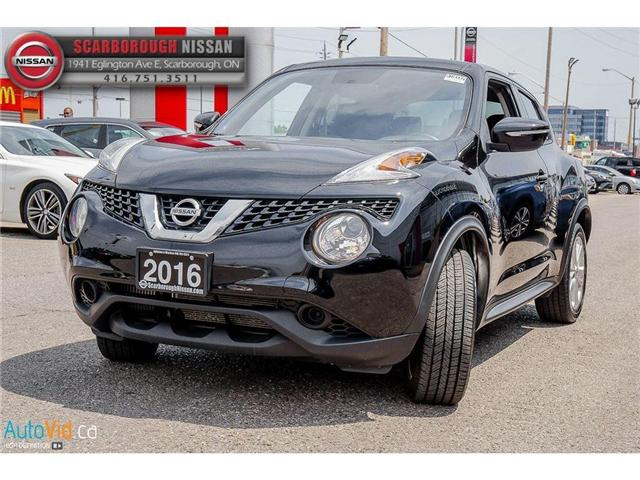 2016 Nissan Juke SV (Stk: K18006A) in Scarborough - Image 8 of 21