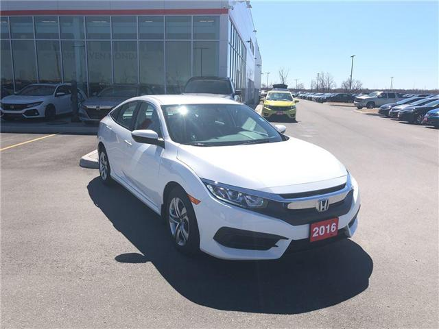 2016 Honda Civic LX (Stk: B0050) in Nepean - Image 7 of 18