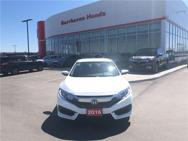 2016 Honda Civic LX (Stk: B0050) in Nepean - Image 8 of 18