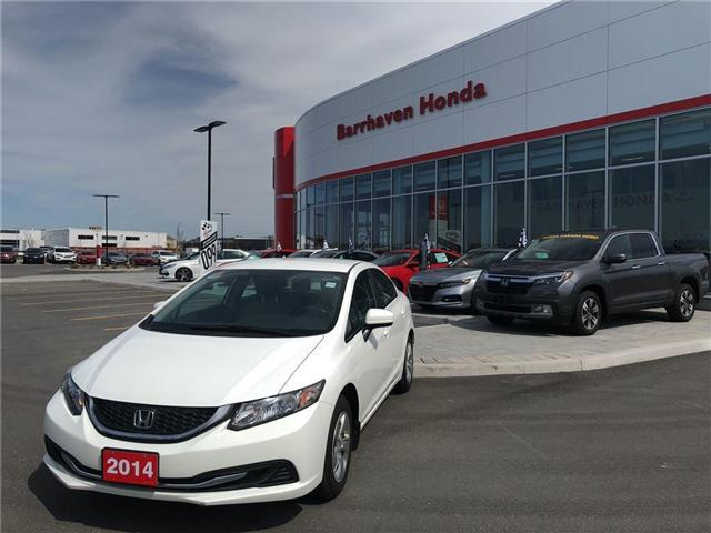 2014 Honda Civic LX (Stk: B0076) in Nepean - Image 1 of 14