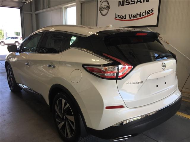 2016 Nissan Murano Platinum (Stk: P0598 ) in Owen Sound - Image 3 of 12