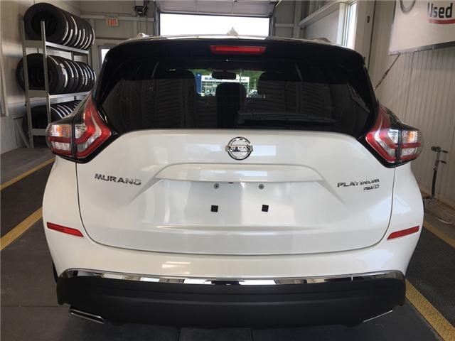 2016 Nissan Murano Platinum (Stk: P0598 ) in Owen Sound - Image 4 of 12