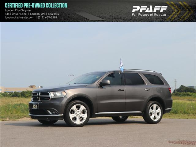 2015 Dodge Durango SXT (Stk: 8742B) in London - Image 1 of 21