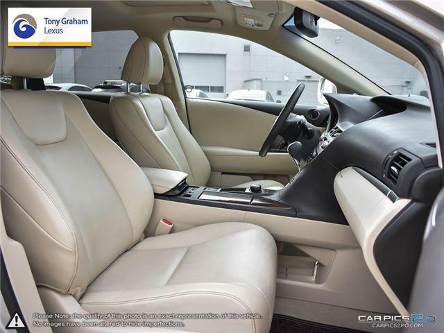 2015 Lexus RX 350 Sportdesign (Stk: Y3186) in Ottawa - Image 22 of 26
