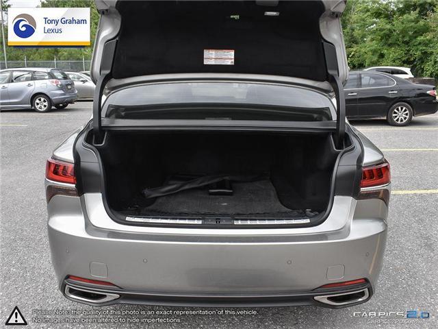 2018 Lexus LS 500 L (Stk: Y3192) in Ottawa - Image 11 of 29