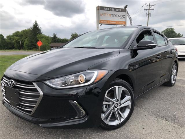 2018 Hyundai Elantra GLS (Stk: -) in Kemptville - Image 1 of 25