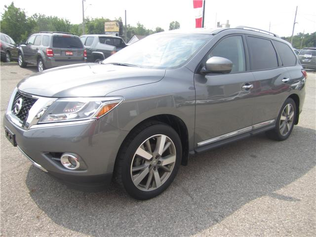 2015 Nissan Pathfinder Platinum (Stk: 1834A) in Simcoe - Image 2 of 23