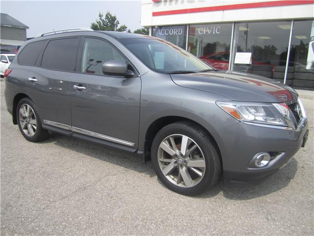 2015 Nissan Pathfinder Platinum (Stk: 1834A) in Simcoe - Image 1 of 23