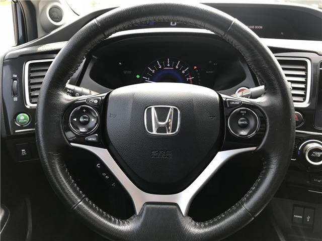 2015 Honda Civic Touring (Stk: ) in Concord - Image 14 of 19