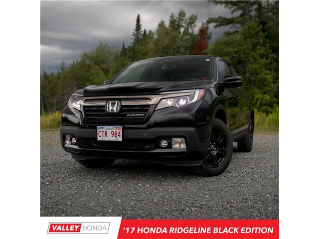 2017 Honda Ridgeline Black Edition (Stk: U4950A) in Woodstock - Image 1 of 8