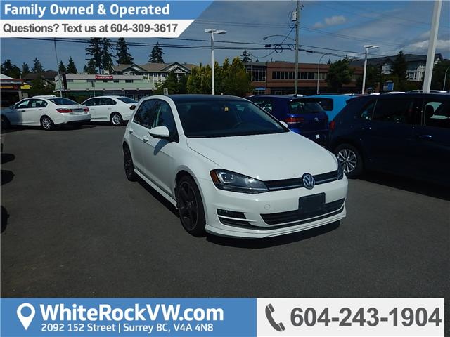 2015 Volkswagen Golf 2.0 TDI Highline (Stk: VW0697) in Surrey - Image 1 of 29