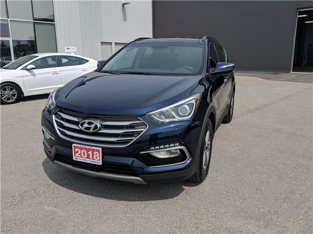 2018 Hyundai Santa Fe Sport 2.4 SE (Stk: 80274) in Goderich - Image 1 of 17